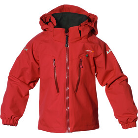 Isbjörn Storm Jacket Children red